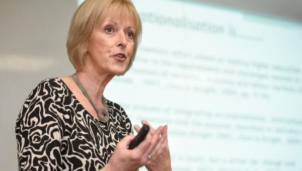 Newcastle University Professor discusses internationalization at home