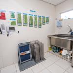 Sala de higienização