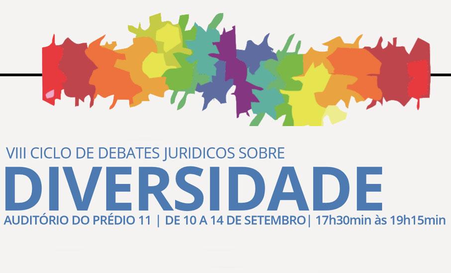 ciclo de debates jurídicos sobre diversidade, direito, mesas-redondas