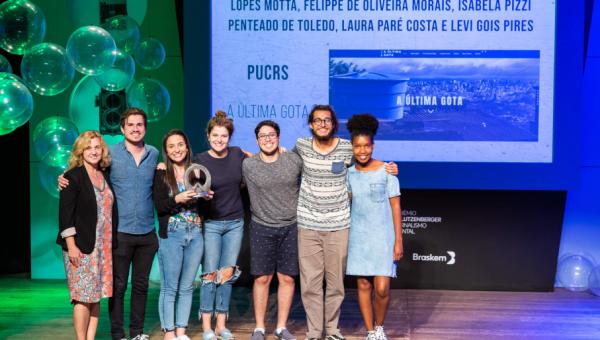Estudantes conquistam 2° lugar no Prêmio José Lutzenberger de Jornalismo Ambiental