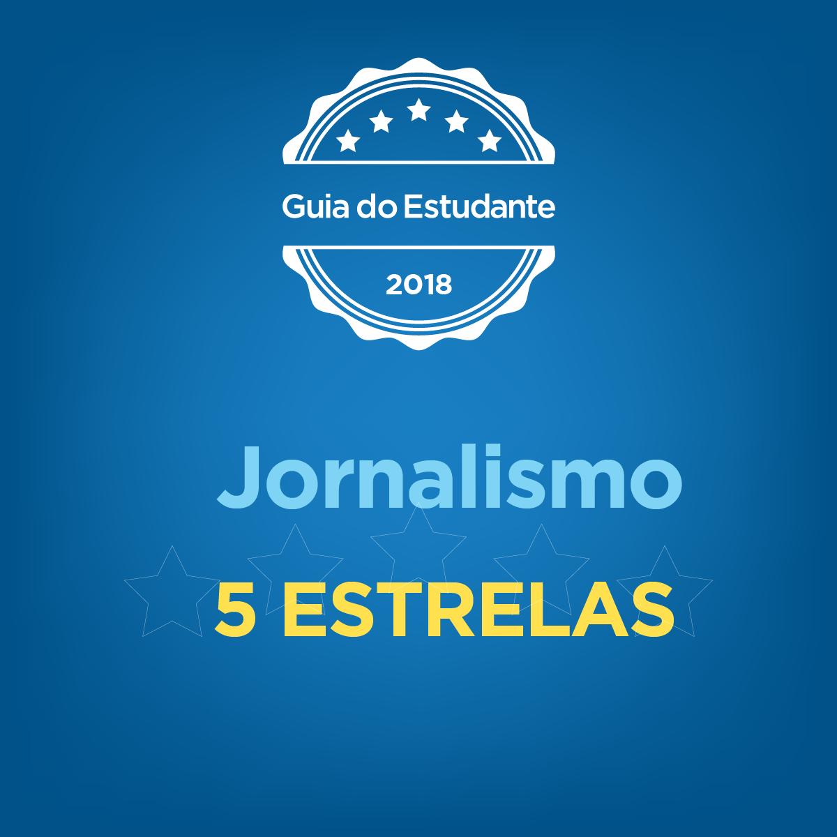 Guia do Estudante Abril - Jornalismo 5 estrelas
