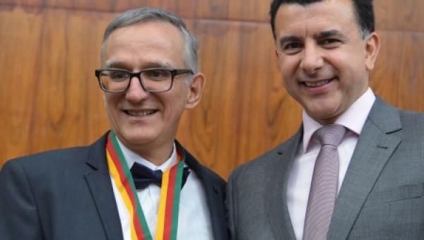 Juremir Machado recebe Mérito Farroupilha