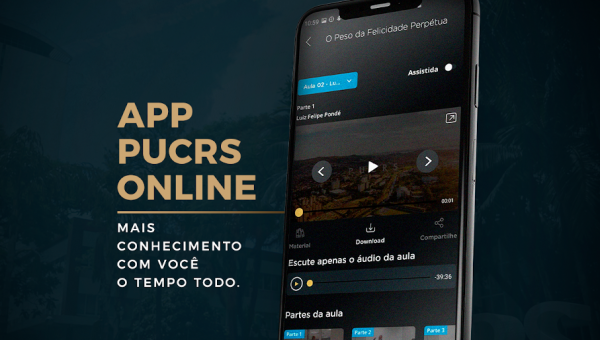 PUCRS lança aplicativo com experiência diferenciada para alunos de Pós e MBA online