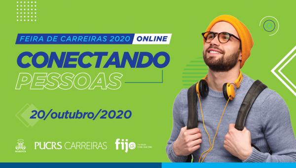 Oportunidades e capacitações: abertas as inscrições da Feira de Carreiras 2020