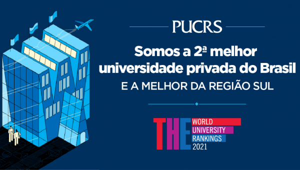 PUCRS segue entre as melhores universidades públicas e privadas do Brasil