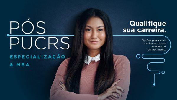 Comece 2021 qualificando sua carreira com os cursos de pós-graduação da PUCRS