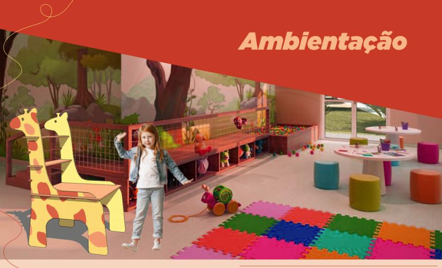 Estudantes desenvolvem brinquedos e mobiliário pedagógico para crianças