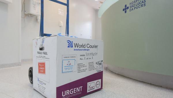 Vacina chinesa de combate a Covid-19 chega no Hospital São Lucas