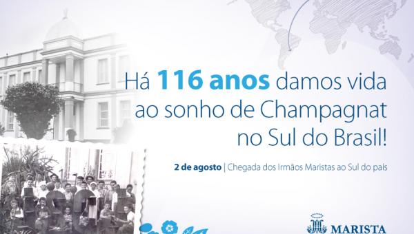 Rede Marista celebra 116 anos de presença no Sul do Brasil