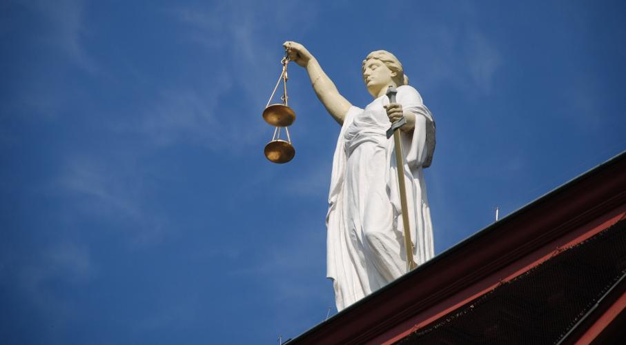 Estátua, Justiça, Lei, Direito