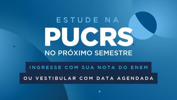 Inscrições abertas para estudar na PUCRS ainda em 2020