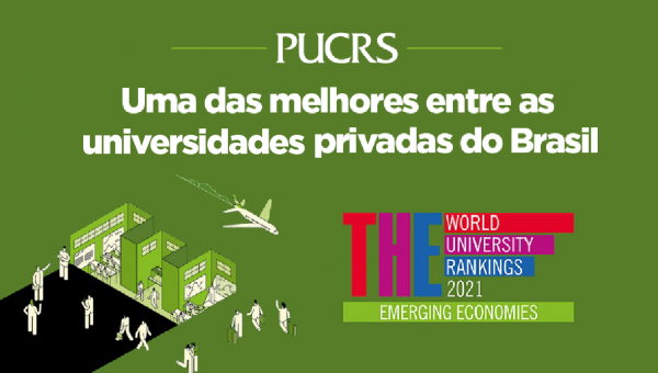 PUCRS se mantém entre as melhores universidades em países emergentes