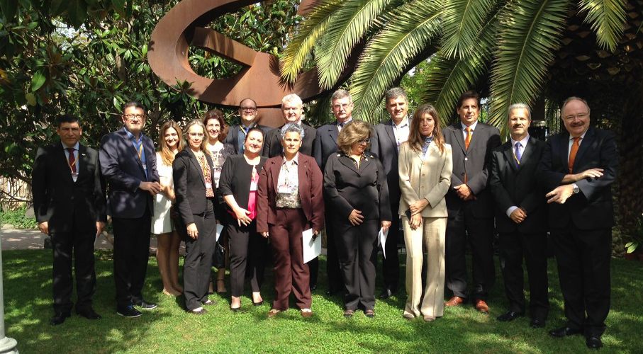 The Vice President for Research, Innovation and Development of PUCRS, Jorge Audy, is taking part in an international mission consisting of 12 Presidents and Senior Vice President of the Consórcio das Universidades Comunitárias Gaúchas (Comung), from 1 to 10 of October, in Spain.