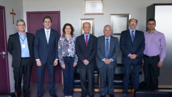 President of PUCRS welcomes the General Consul of Israel in São Paulo