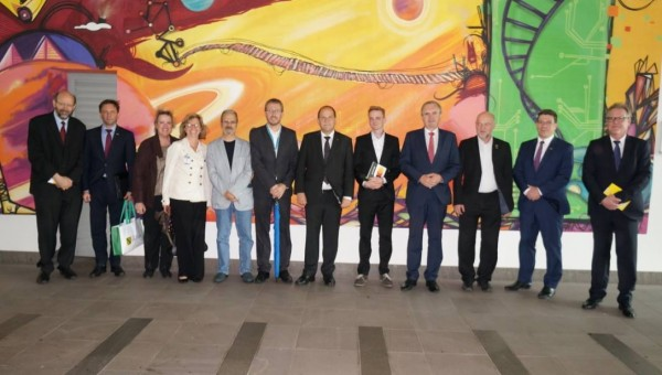 Delegation of Federal State of Sachsen, in Germany, visits PUCRS