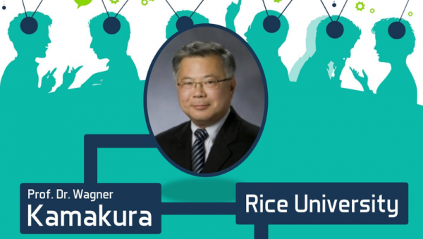 Wagner Kamakura gives series of lectures at PUCRS