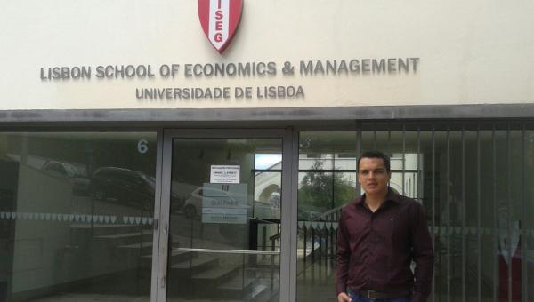 Business School student joins Nobel Prize meeting