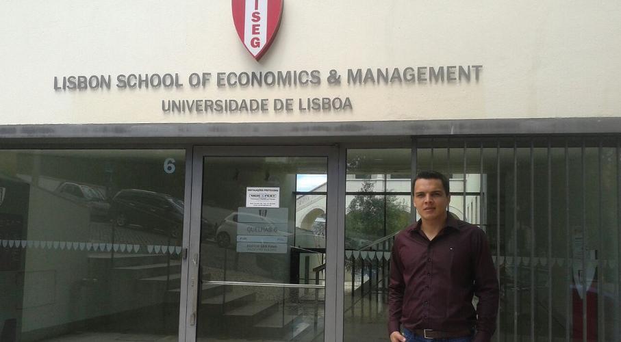Paulo Henrique Hoeckel at University of Lisbon