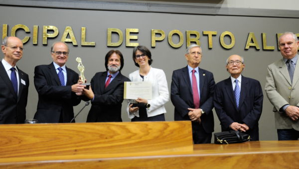 Municipal Chamber pays tribute to Institute of Geriatrics