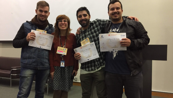 PUCRS made to finals of Act in Space in France