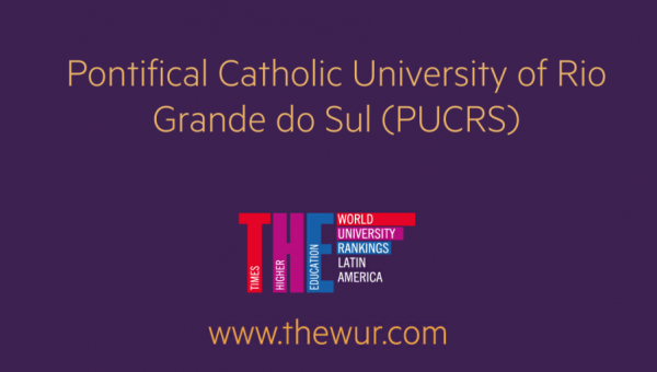 PUCRS stands out in THE Latin America University Rankings