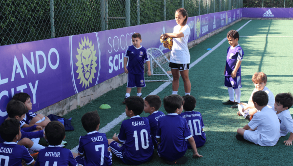 Orlando City Soccer School opens its doors at PUCRS Sports Park