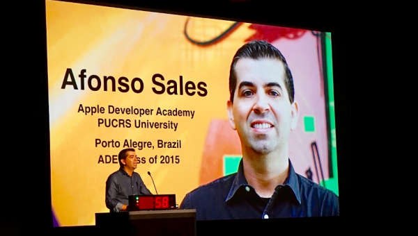 PUCRS takes part in Apple global event