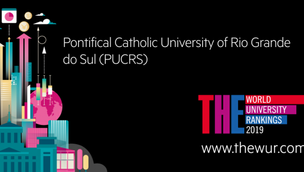 THE 2019: PUCRS is #1 private university in south of Brazil