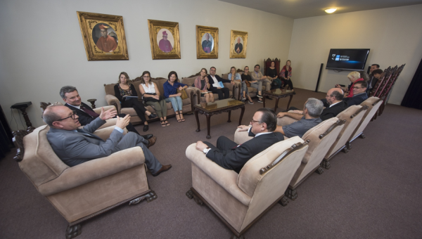German delegation visits Center for European Studies at PUCRS