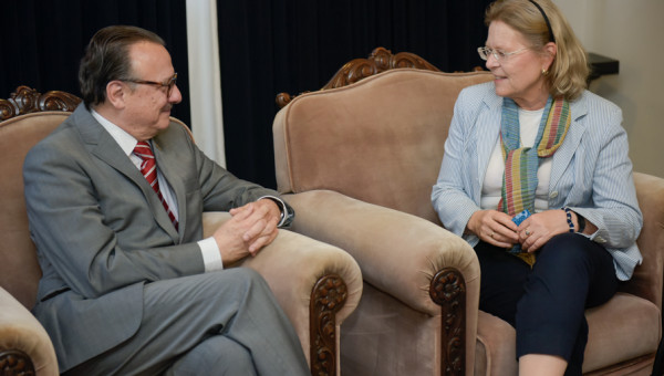 Austrian Ambassador discusses future joint projects with PUCRS
