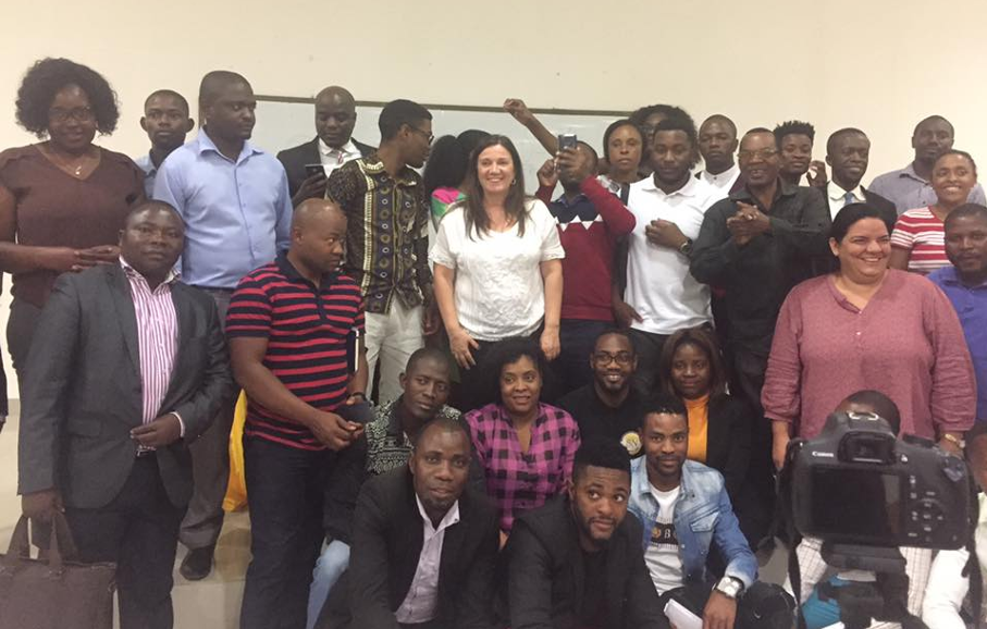 School of Humanities professors develop actions with educators in Angola