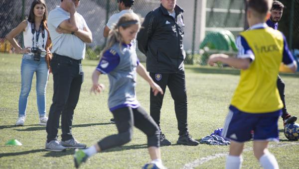 Orlando City Soccer School celebrates first anniversary at Sports Park