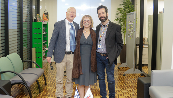 Israeli professors share knowledge with PUCRS