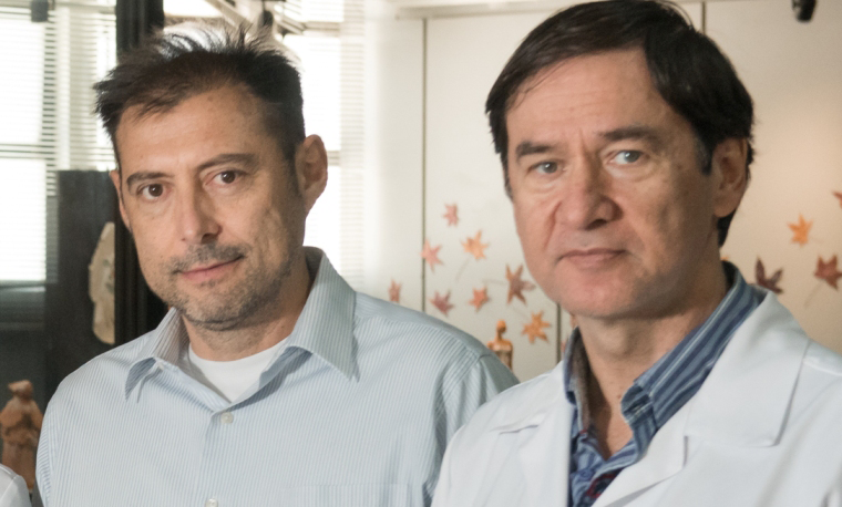 André Palmini (left) and Eliseu Paglioli Neto are heads of the Neurology and Neurosurgery services at HSL | Image: Release