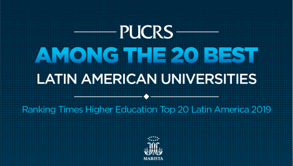PUCRS one the 20 best Latin American universities in international ranking
