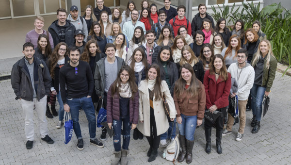 PUCRS students head to 25 partner universities