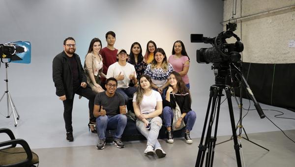 International students take part in audiovisual workshop