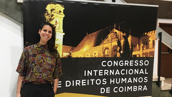 Law School student presents paper at Universidade de Coimbra, Portugal