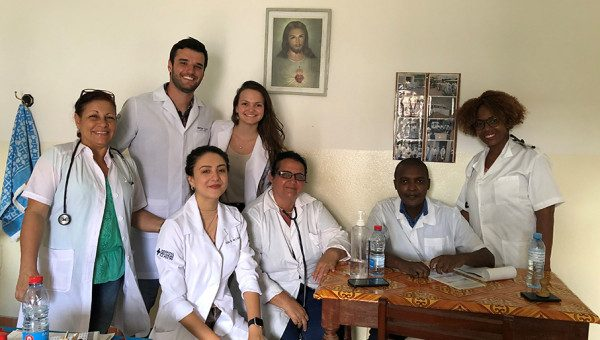 Exchange program provides experience in health care in Mozambique