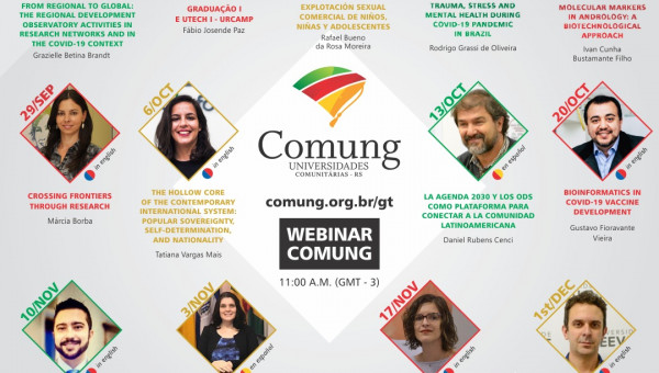 Comung's Internationalization Work Group promotes round of lectures