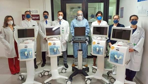 Vatican donates respirators to PUCRS' São Lucas Hospital