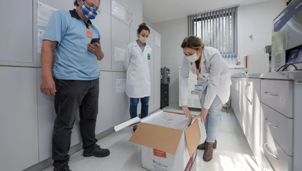 China's Covid-19 vaccine under trial at São Lucas Hospital
