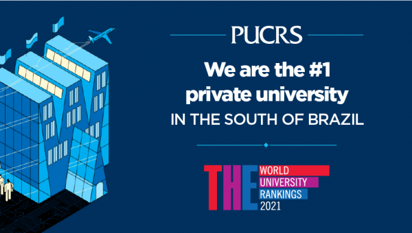 Global ranking lists PUCRS as best private university in south of Brazil