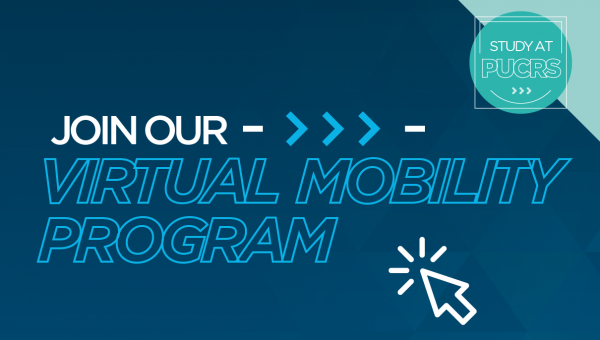 Join PUCRS' Virtual Mobility Program in 2021