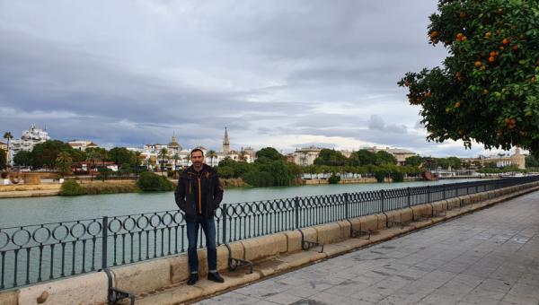 Professor visits Estación Biológica de Doñana, in Spain