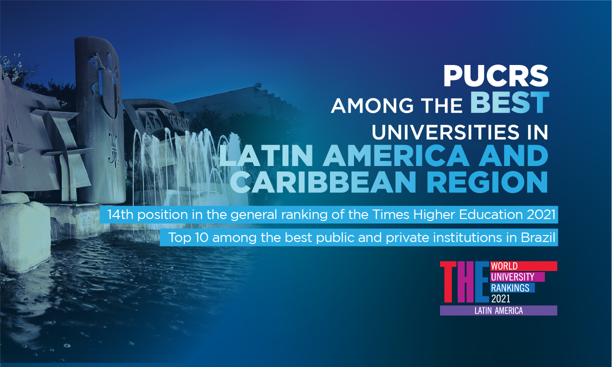 PUCRS is among the best universities in Latin America