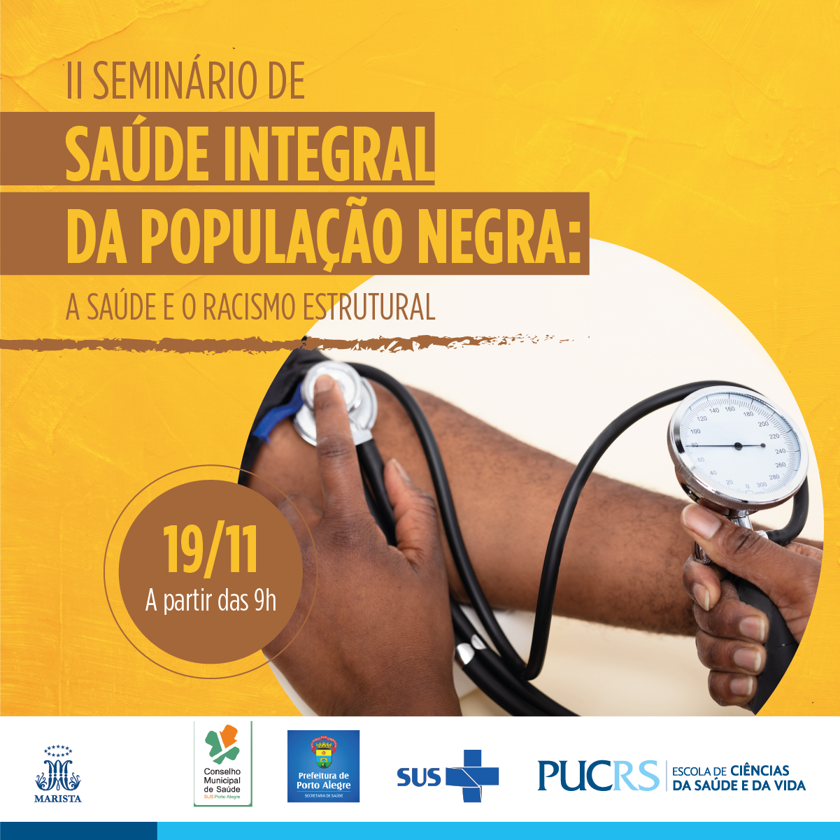 II Seminário Interprofissional de Saúde Integral da População Negra: a Saúde e o Racismo Estrutural