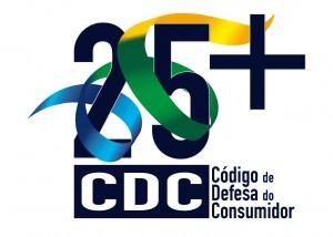 Logo oficial - Jornadas Brasilcon CDC 25 anos