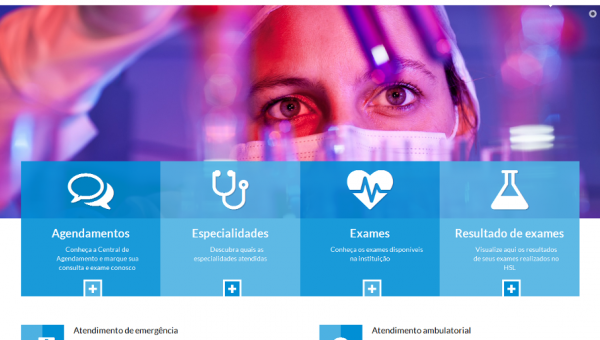 Hospital São Lucas da PUCRS tem novo site