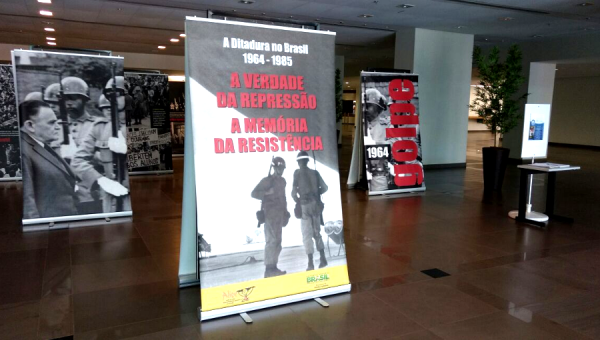 Biblioteca Central recebe exposição fotográfica sobre a ditadura